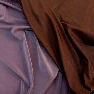 Lycra subtire 2 fete maro-rosiatic