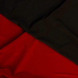 Lycra subtire 2 fete bordeaux-negru