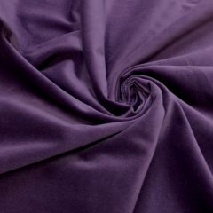 Catifea de bumbac lila