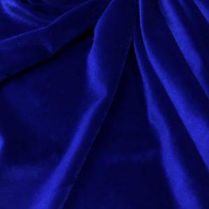 Catifea elastica albastru-royal