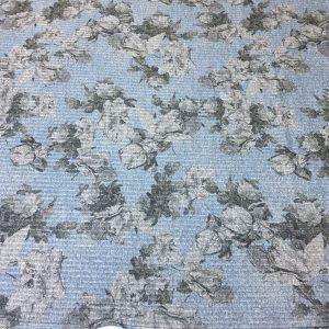Tricot imprimeu floral