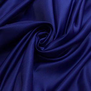 Tafta Duchesse albastru-inchis