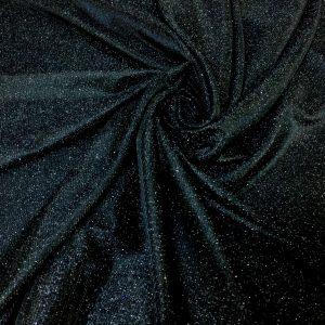 Lurex negru cu sclipici