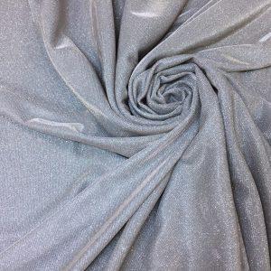 Lurex argintiu-rose cu sclipici