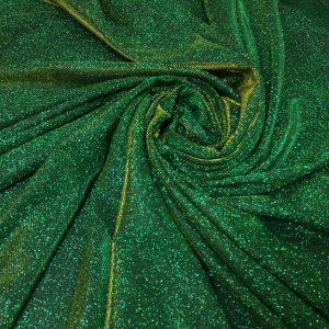 Lurex verde cu sclipici