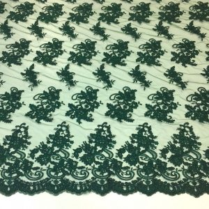 Broderie verde-inchis