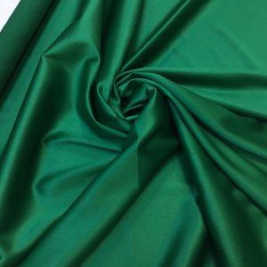 Satin gros elastic verde