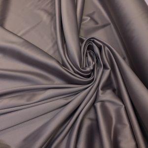 Satin gros elastic lila fumuriu