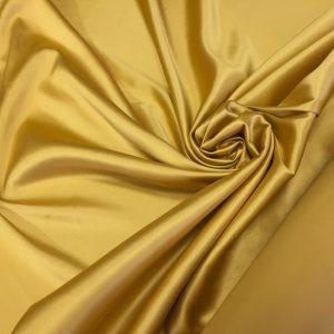 Satin gros elastic ocru-auriu