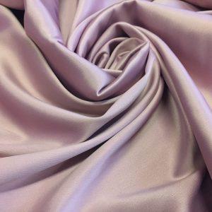 Satin  gros elastic gri lila prafuit