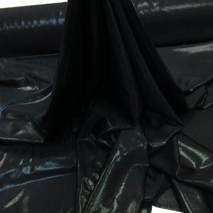 Lycra neagra cu aspect metalizat