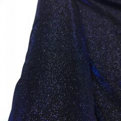 Lurex bleumarin cu sclipici