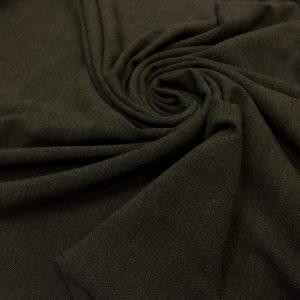 Stofa subtire verde-khaki cu dungi
