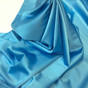 Tafta elastica premium bleu-turcoaz