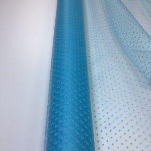 Tulle bleu-turcoaz cu buline