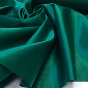 Tafta fixa lucioasa verde-smarald inchis