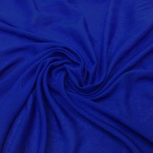 Batist de bumbac albastru