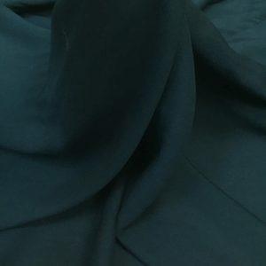 Batist de bumbac verde-marin inchis