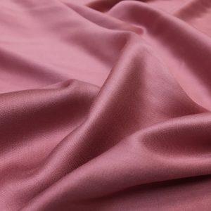 Batist de bumbac satinat roz-lila prafuit