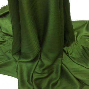 Batist de bumbac satinat verde-lime