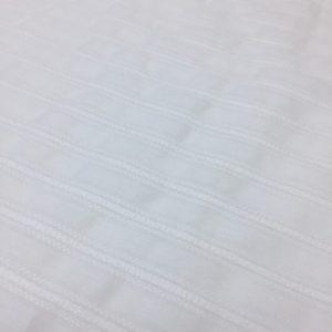 Panza de bumbac alba cu dungi