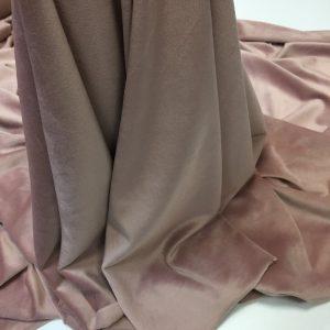 Catifea elastica roz-pudra