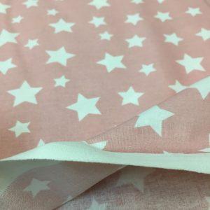 Bumbac ranforce imprimeu stele