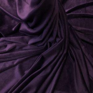 Catifea elastica mov-indigo