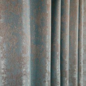 Material draperie turquoise prafuit