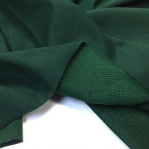 Jerse din bumbac cu elastan verde