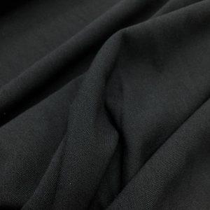 Jerse din bumbac cu elastan negru