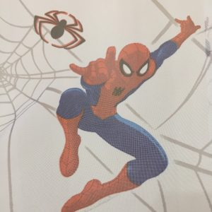 Perdea copii cu imprimeu Spider-Man