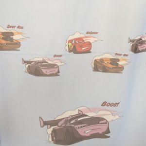 Perdea copii cu masinute Cars