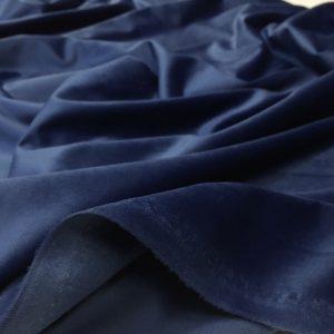 Catifea draperie bleumarin