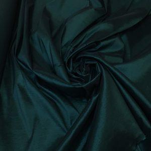 Tafta elastica subtire verde-marin inchis