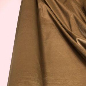 Tafta elastica subtire bej-auriu