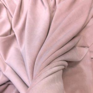 Catifea elastica roz-quatz pastel