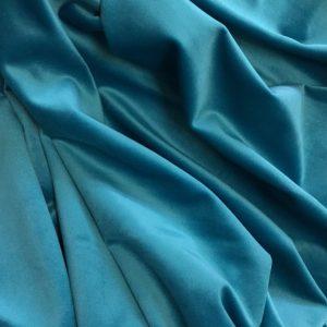 Catifea draperie turcoaz