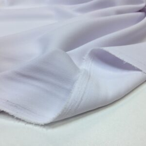 Crep cu elastan alb