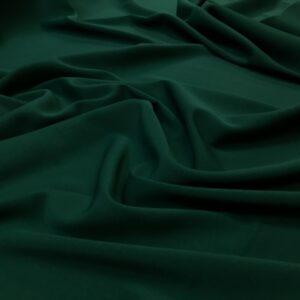 Crep cu elastan verde inchis