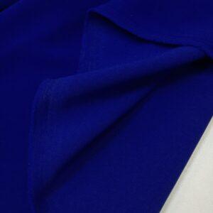 Crep cu elastan albastru-royal