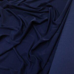 Crep cu elastan bleumarin