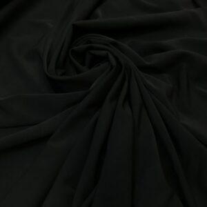 Crep cu elastan negru