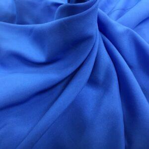 Batist de bumbac albastru deschis