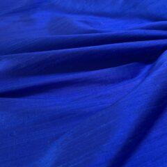 Shantung de matase naturala albastru