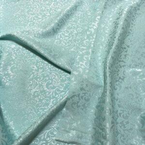 Jacquard verde aqua