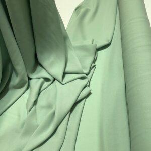 Crep subtire Elara verde-pastel