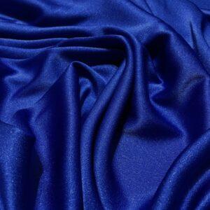 Crep satinat Cady albastru royal