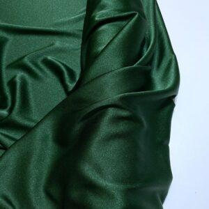 Crep satinat Cady verde inchis